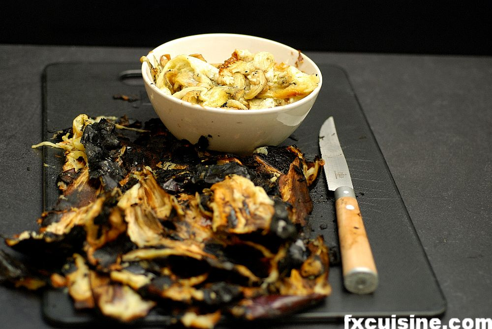 Indian Eggplant Spread Cooked Over Hot Embers