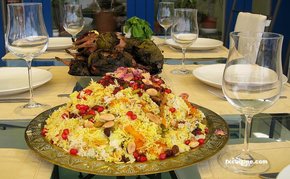 Serv esto con mis codornices rellenas de higos fig for Ancient persian cuisine
